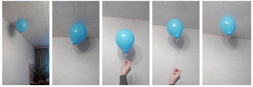 Как сделать шарики с гелием без гелия