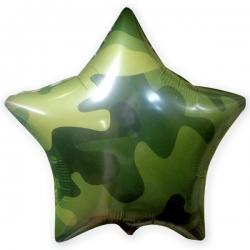 шар звезда комуфляж
